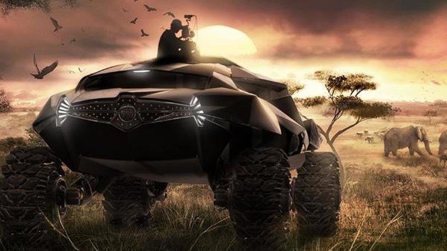 2035 ZAIRE all-terrain concept envisioned