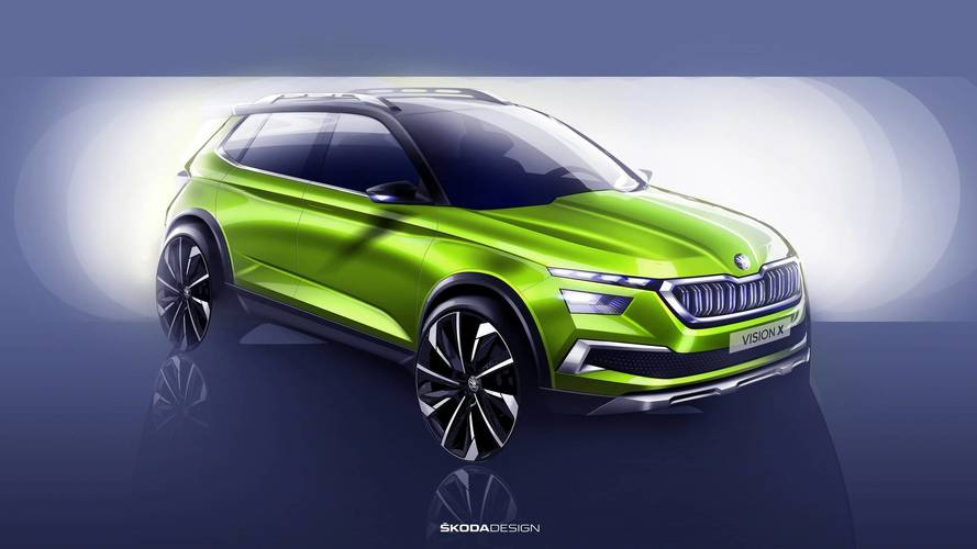 Skoda Vision X Concept Foretells Baby Crossover