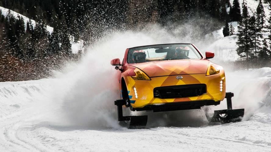 Minden ok nélkül: a világ legjobb hómobilja a Nissan 370Zki
