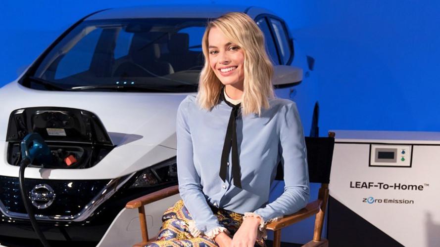 Nissan Leaf, energia social per Margot Robbie