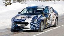 Ford Focus Sedan Spy Photo