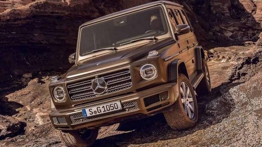 Yeni Mercedes G Serisi'nin fotoğrafları sızdı!