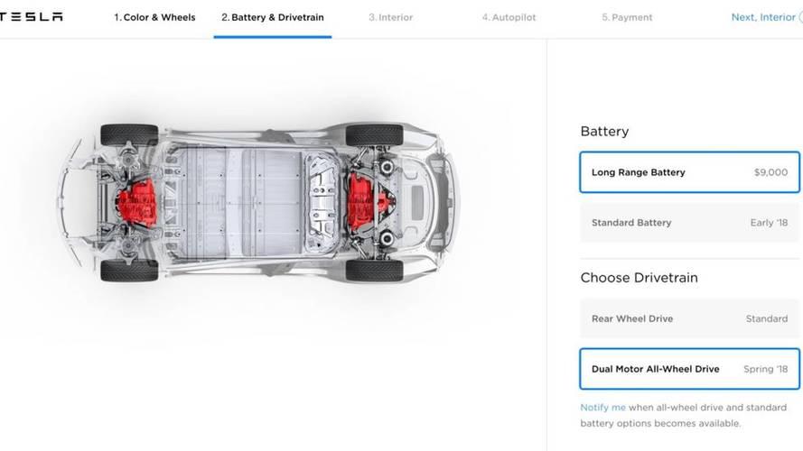 Tesla Model 3 Çift Motor