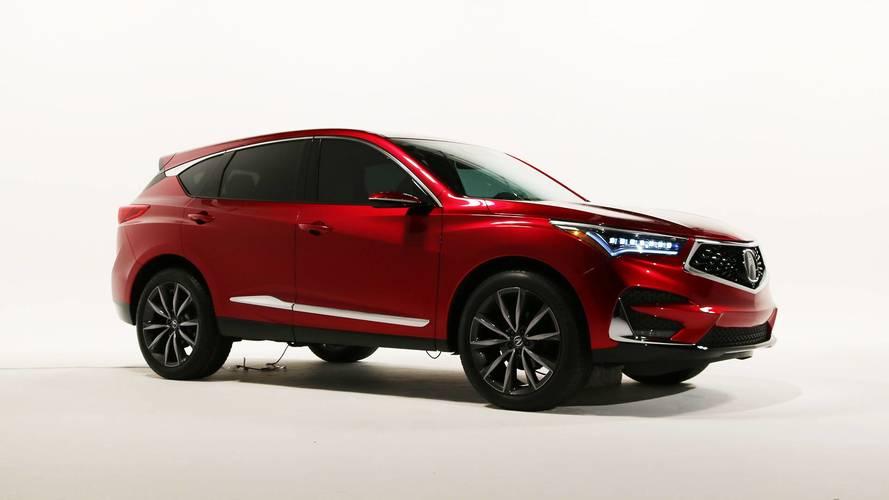 2019 Acura RDX Prototype Packs More Power, More Luxury