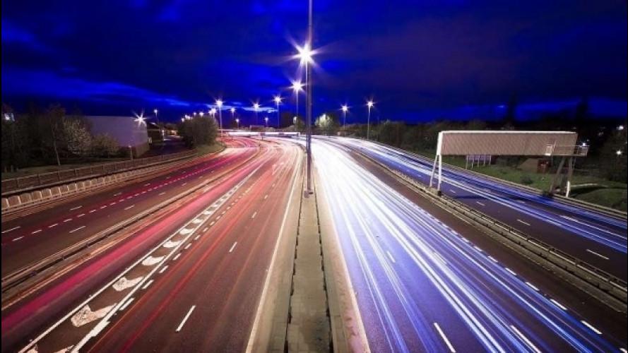 Ricarica veloce in autostrada, sì da Enel e AISCAT