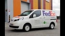 Nissan e FedEx testam NV200 elétrico nas ruas de Londres