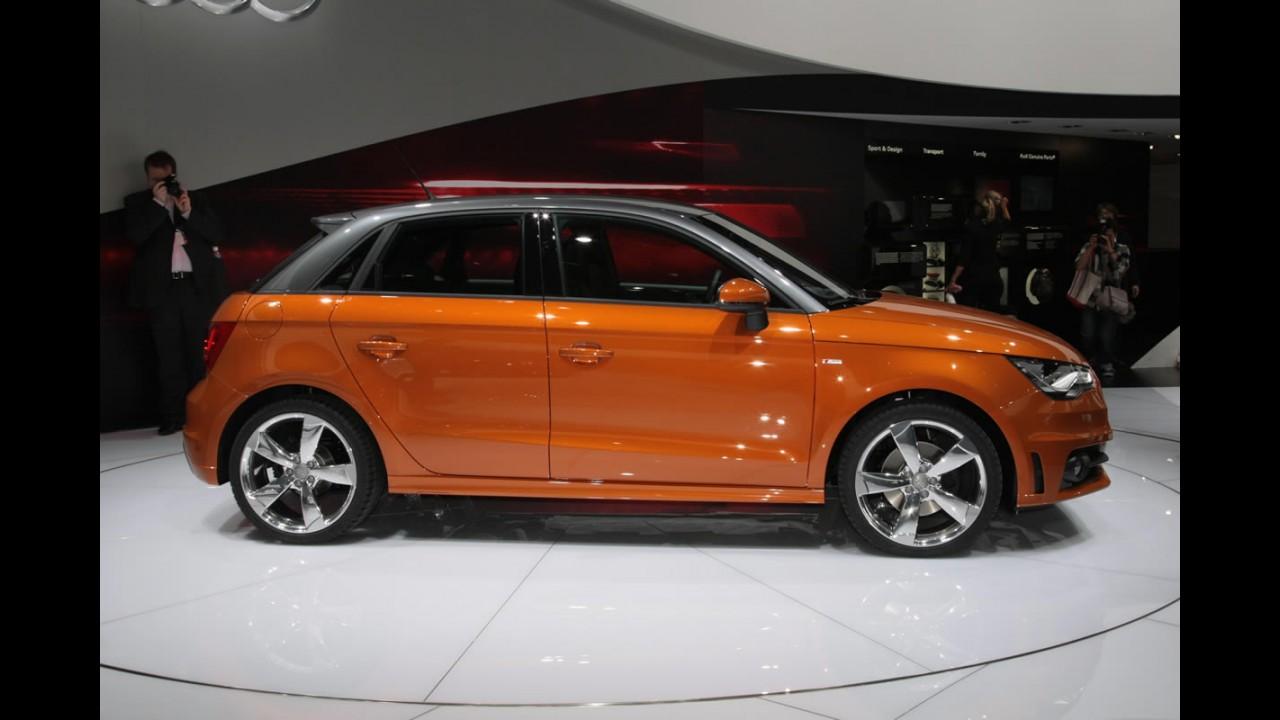 Europa: Audi A1 Sportback ganha motor 2.0 TDI de 143 cv - Consumo é de 24,3 km/litro