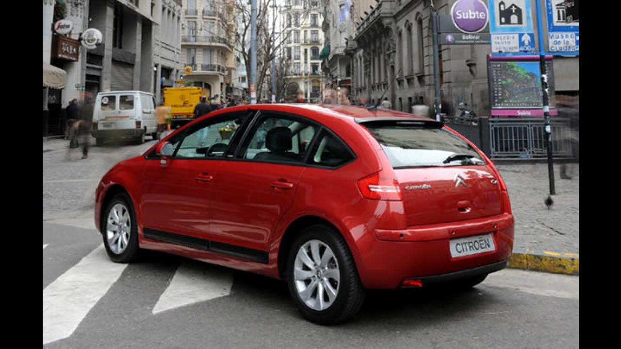 Citroën lança linha C4 2011 mais equipada e com nova versão Exclusive Sport