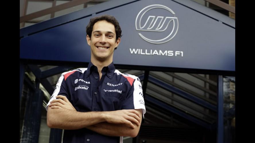 Bruno Senna é confirmado como segundo piloto da Williams F1