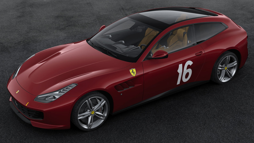 Ferrari 70th Anniversary Livery Number #5