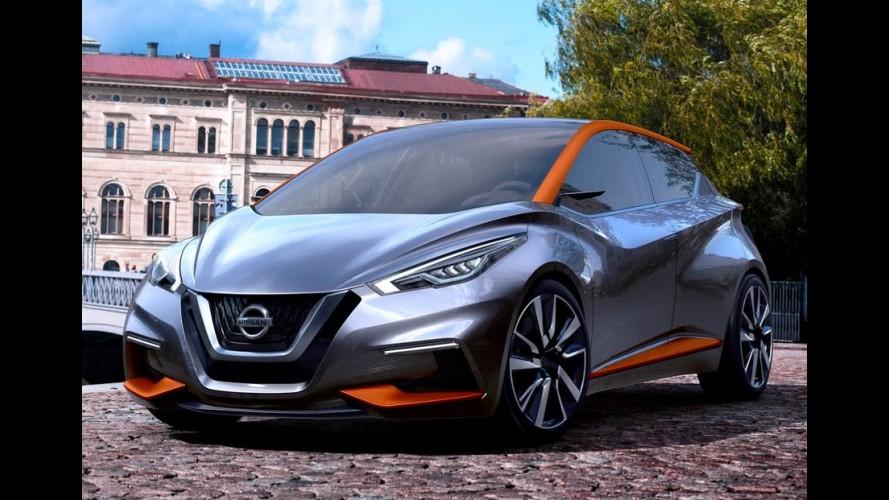 Novo Nissan March estreia em março e será produzido no México em 2016