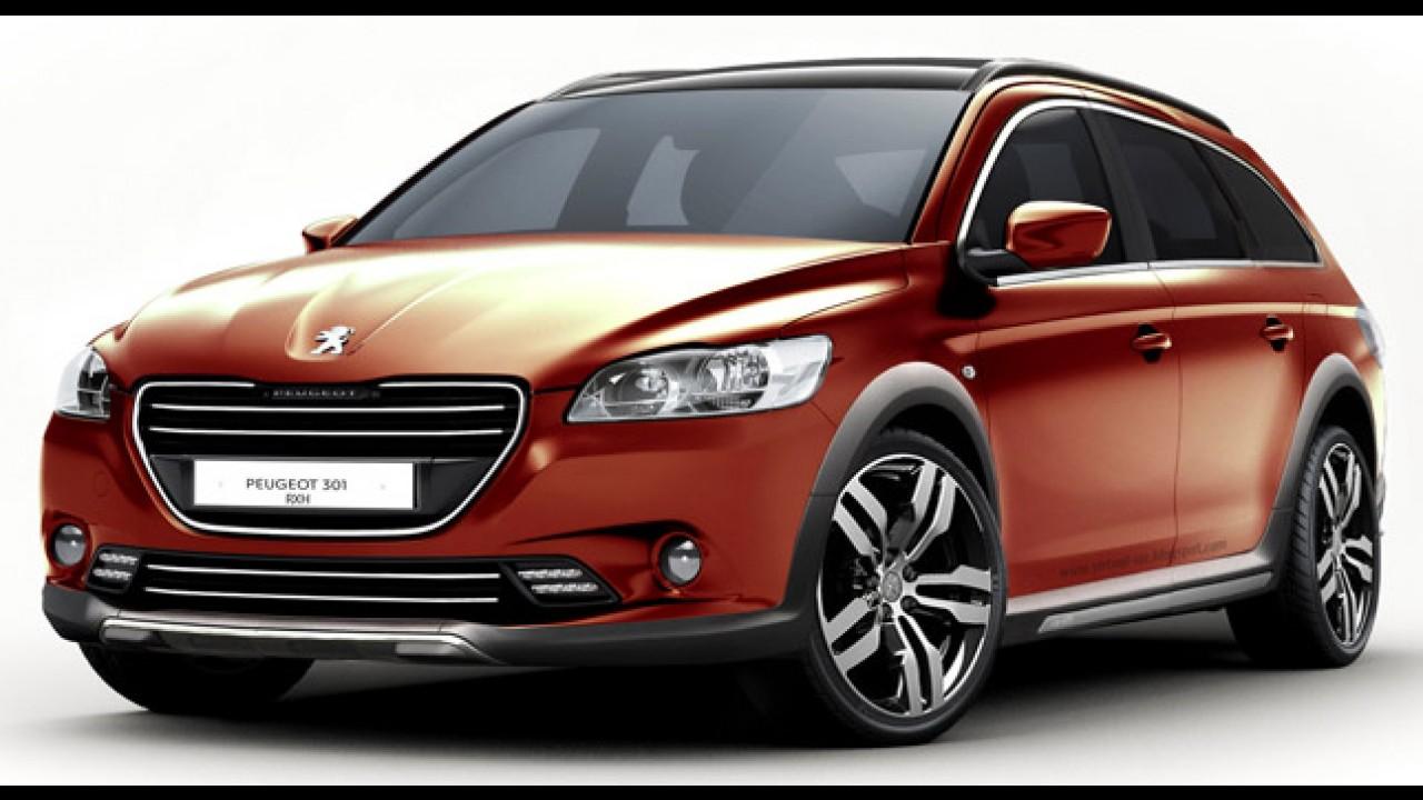 Peugeot 301 RXH - Versão perua pode ser uma opção
