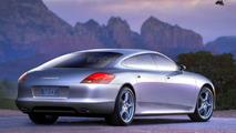 2009 Porsche Panamera Spy Illustration