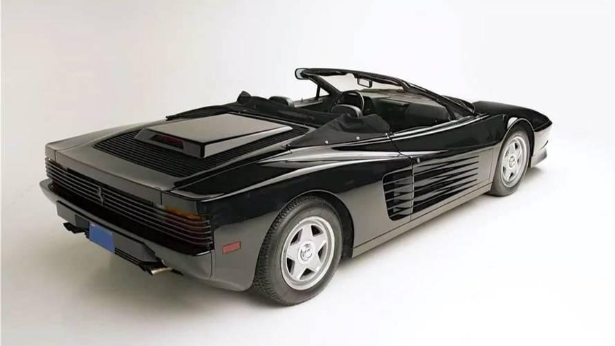 La Ferrari Testarossa cabriolet de Michael Jackson est à vendre