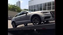 Flagra! Pegamos o Audi A3 Sedan feito no Brasil, que chega em novembro