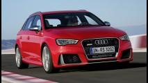 Audi RS3 com motor de 372 cavalos chega ao Brasil no segundo semestre