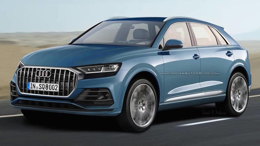 Audi Q8 de produção é antecipado por projeção