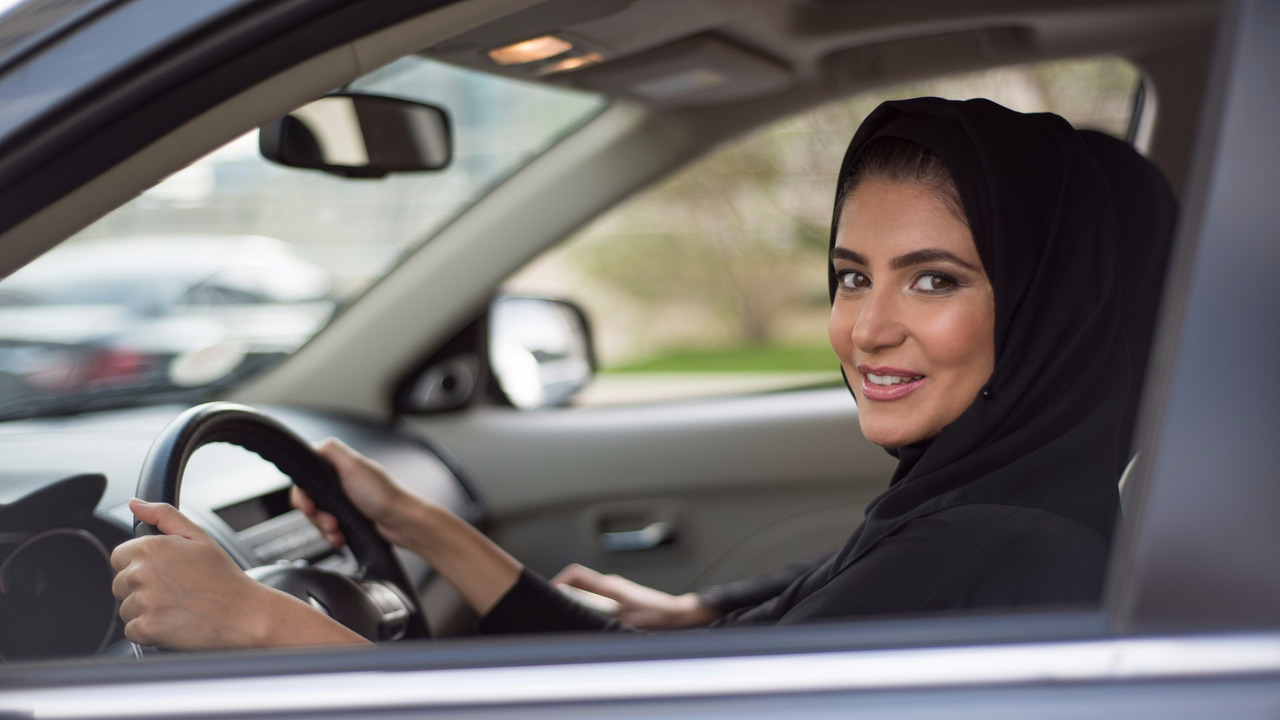 Kadın sürücü, Saudi Arabia
