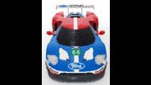 Ford GT ganha réplica feita com 40.000 peças de Lego e faz sucesso na internet