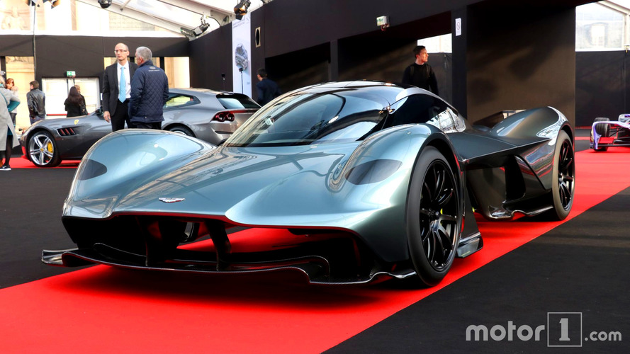 Aston Martin AM-RB 001'in motoru belli oldu