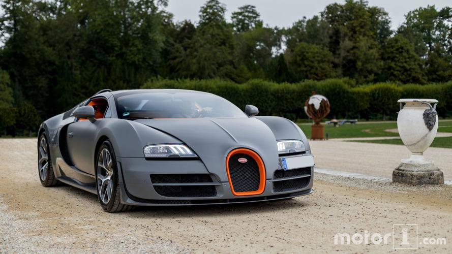 KVC - Bugatti Veyron à Chantilly