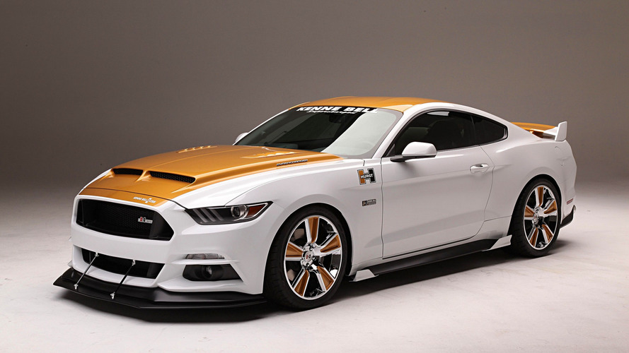 Supercharged 750-hp Ford Mustang puts on flashy suit for SEMA