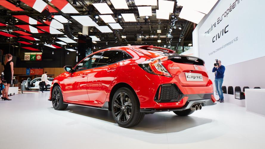 Honda Civic Si, LA Otomobil Fuarı'nda görücüye çıkacak
