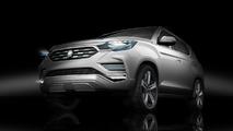 Ssangyong LIV-2 SUV konsepti Paris lansmanı öncesi tanıtıldı