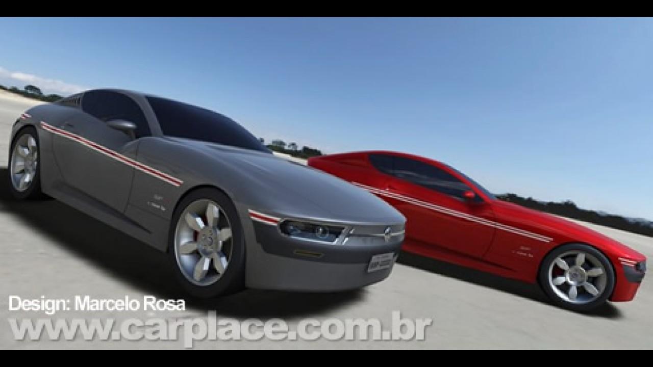 Designer Marcelo Rosa cria releitura moderna do clássico Volkswagen SP2