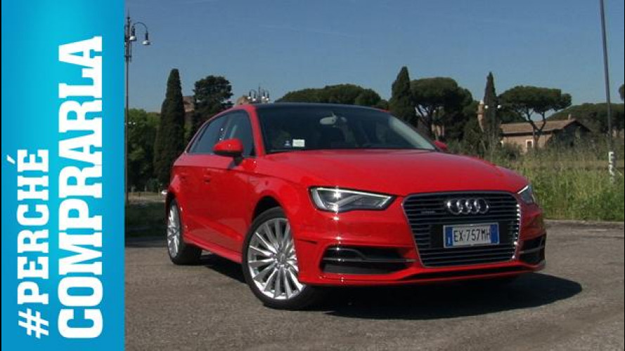 Audi A3 Sportback e-tron, perché comprarla... e perché no [VIDEO]