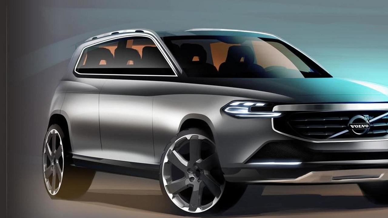 2014 Volvo XC90 sketch - 17.11.2011