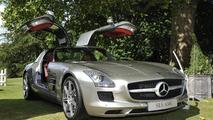 Mercedes-Benz SLS AMG, 2010 Salon Privé Concours d' Elégance 23.07.2010