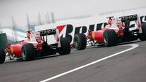 Fernando Alonso (ESP), Felipe Massa (BRA), Scuderia Ferrari, F10, Chinese Grand Prix, 18.04.2010 Shanghai, China