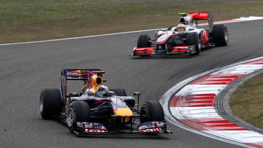 Hamilton and Vettel reprimanded for pitlane clash