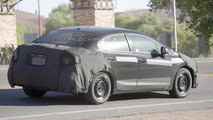 American Honda Civic Sedan spied for the first time