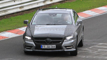 2012 Mercedes CLS-Class spy photos - 18.08.2010