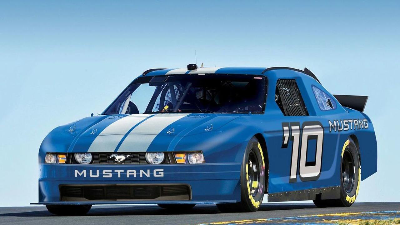 2010 NASCAR Ford Mustang