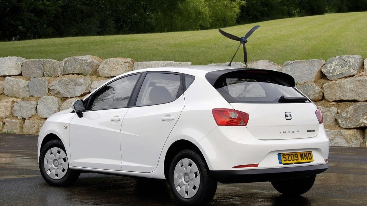 Seat Ibiza Ecomotive with optional aero-tonto