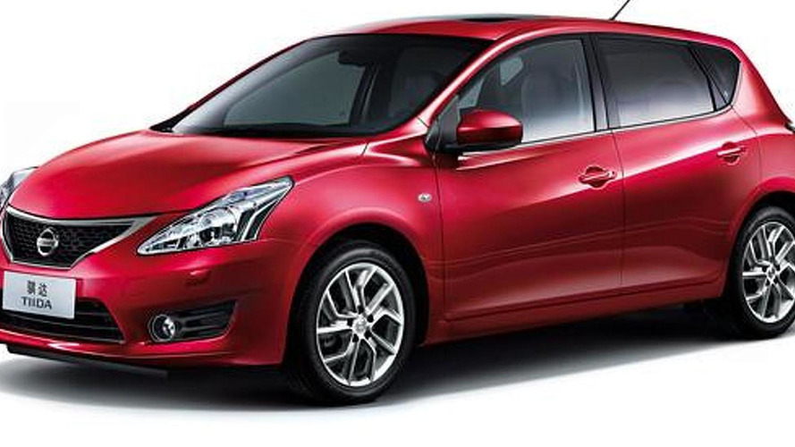2012 Nissan Versa / Tiida revealed in Shanghai