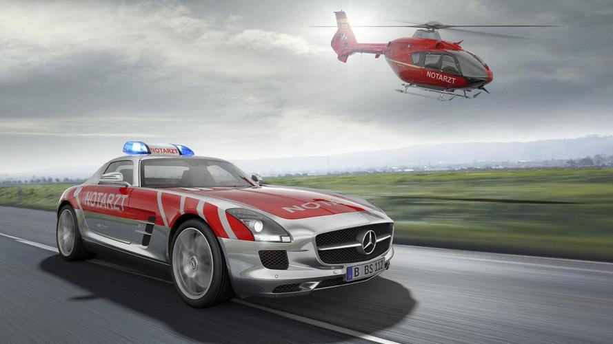 Mercedes SLS AMG Emergency Medical concept announced