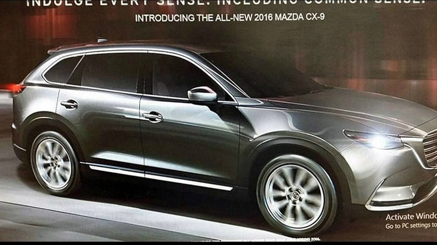 2016 Mazda CX-9 leaked from all angles inside and out