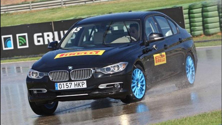 Pirelli Cinturato P7 Blue, a Valencia il test sul bagnato