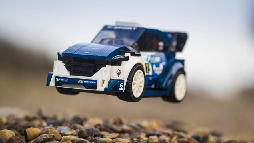 Ford e Lego, insieme per celebrare la vittoria al WRC 2017