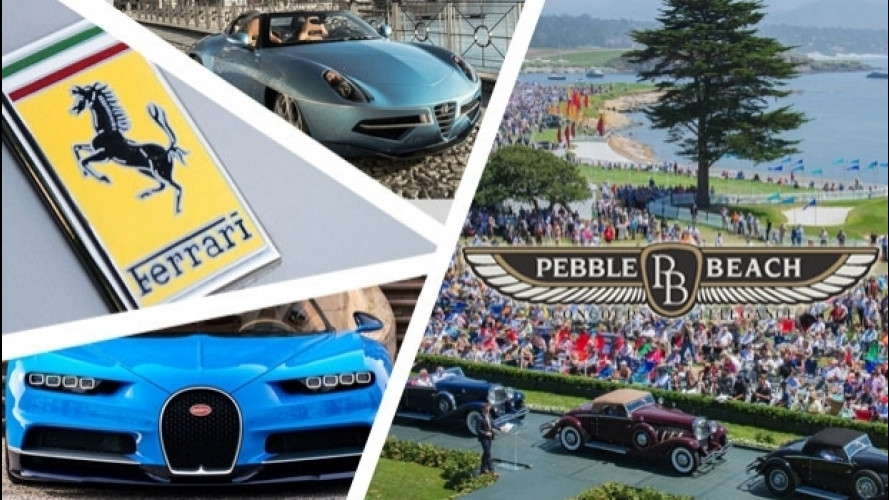 Monterey, al via la Car Week e Pebble Beach 2016