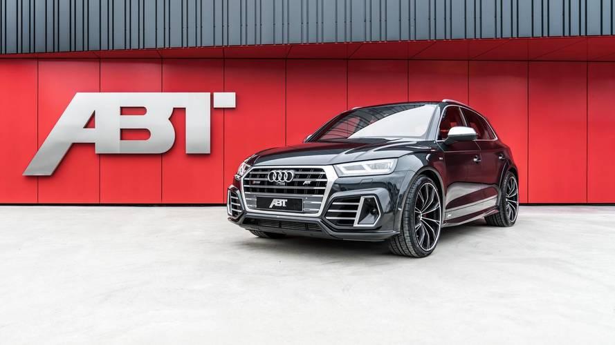 Egy vonzóbbá tett Audi SQ5 lett az ABT legújabb büszkesége