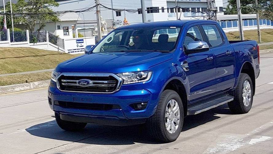 2019 Ford Ranger Spotted Completely Undisguised