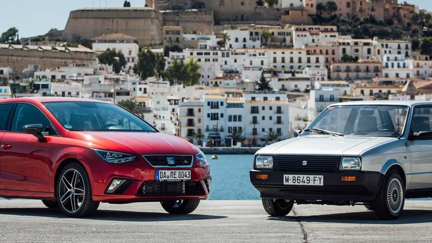 SEAT Ibiza 2018 y 1984