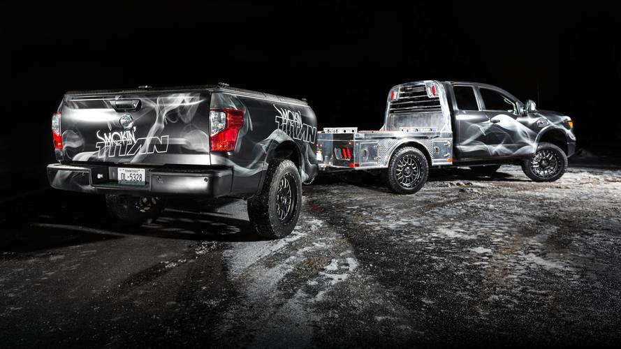 Nissan Smokin' Titan - Pick-up pour amateurs de barbecue