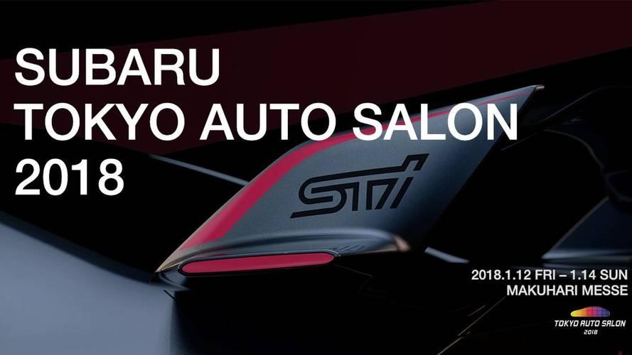 Subaru Viziv Performance STI concept teaser