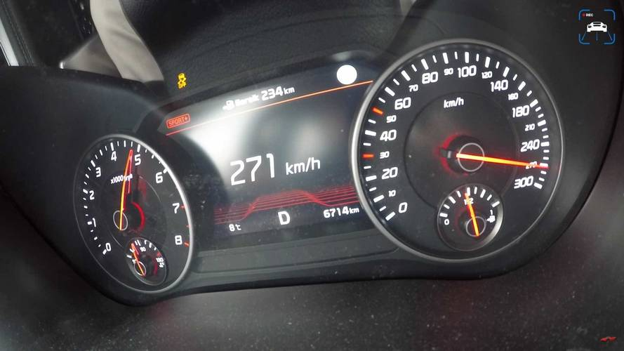 Kia Stinger GT top speed
